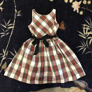Ralph Lauren Tartan Holiday Dress